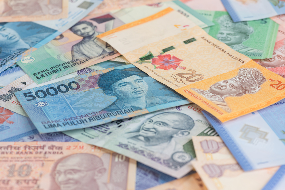 Most Asian currencies trading stronger against USD